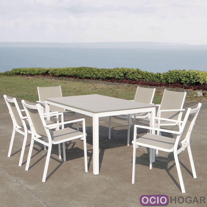 Mesa y sillas de exterior r mini de majestic garden for Sillones de exterior
