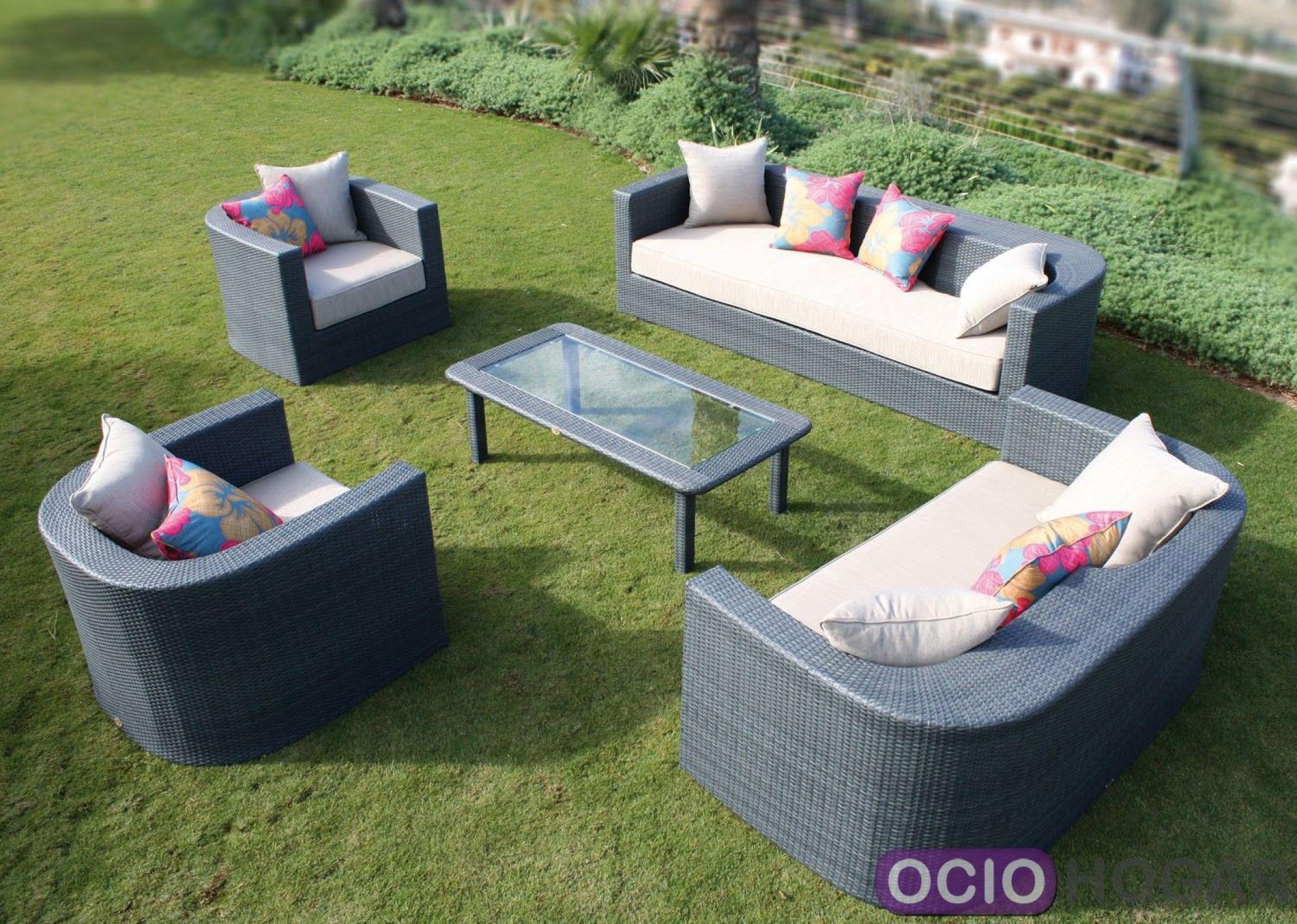 Conjunto exterior sof s sillones y mesa venus majestic - Sillones para jardin exterior ...