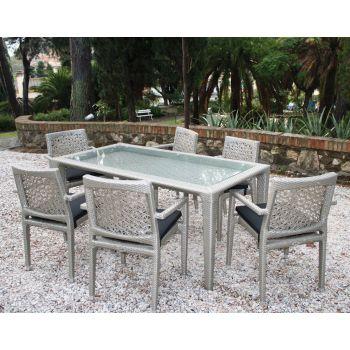 Mesas y sillas de jardín Dinasty