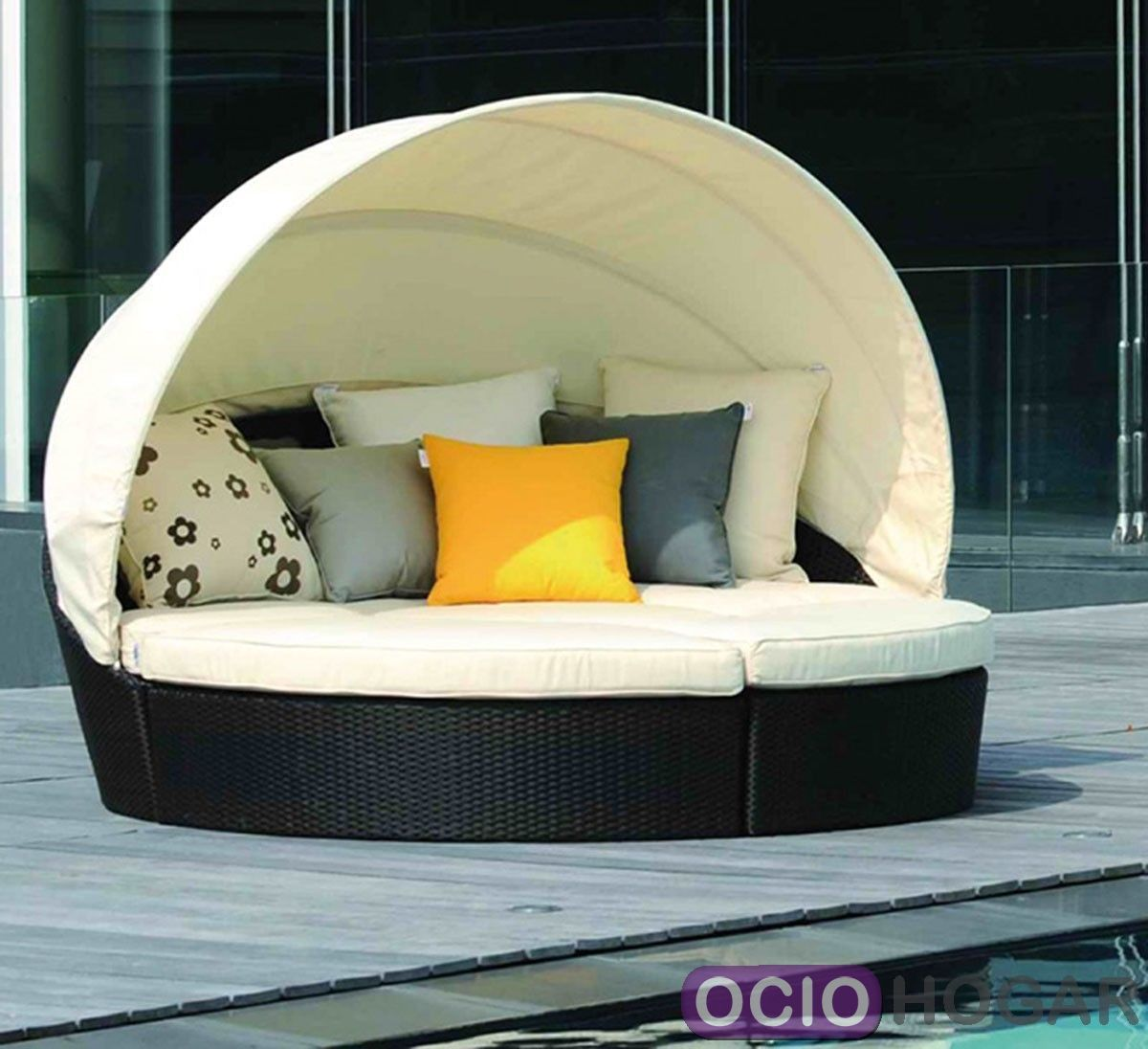 Tumbona modular baleares de majestic garden - Tumbona exterior ...