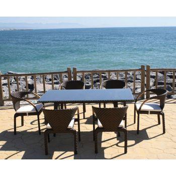 Mesas y sillas de jardín Bretón