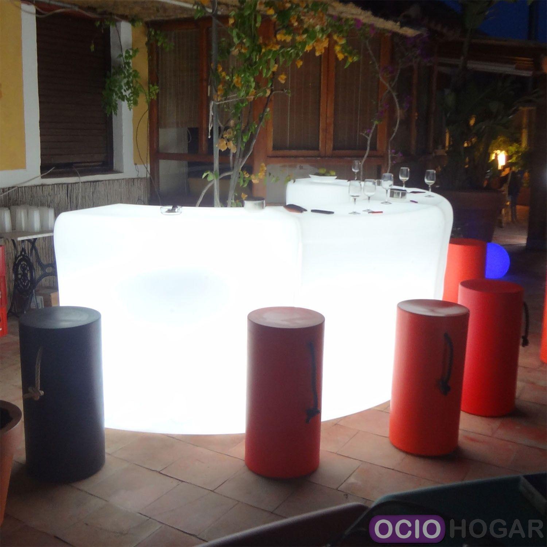 Barra de bar ibiza de new garden muebles de dise o en for Barra bar madera segunda mano