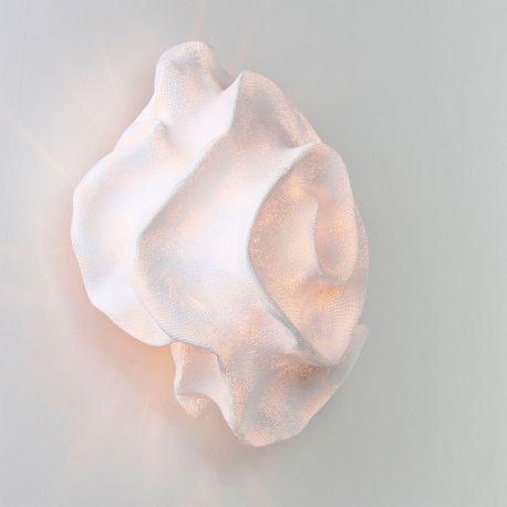 Aplique de pared Nevo NE06 de Arturo Álvarez. Pequeño. Blanco