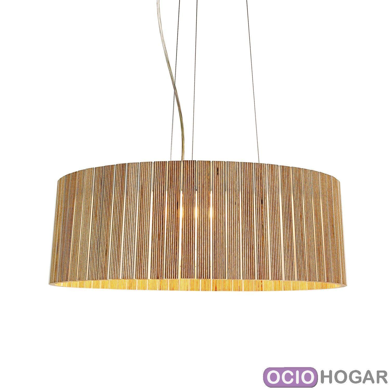 L mpara de techo shio sh04 de arturo lvarez - Lamparas de madera para techo ...