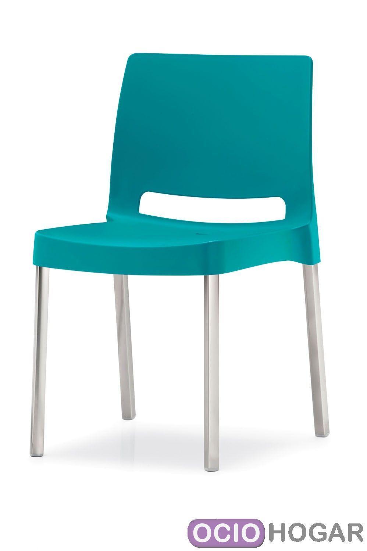 Silla de jard n joi de pedrali sillas de lujo en for Sillas de plastico para jardin