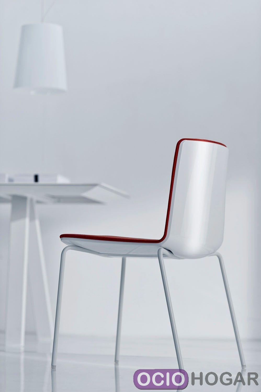 Silla de cocina noa 725 pedrali sillas de dise o en for Sillas de cocina cromadas
