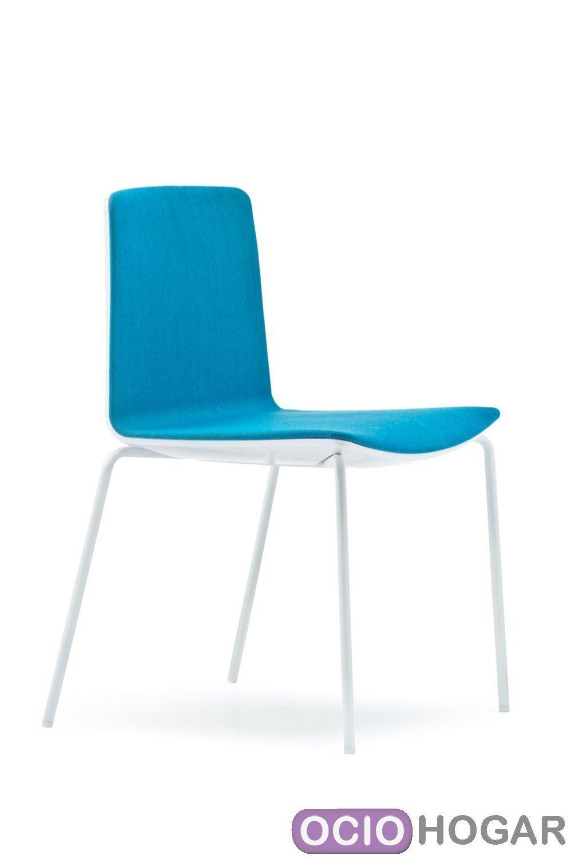 Silla de cocina noa 725 pedrali sillas de dise o en - Cojines sillas cocina ...