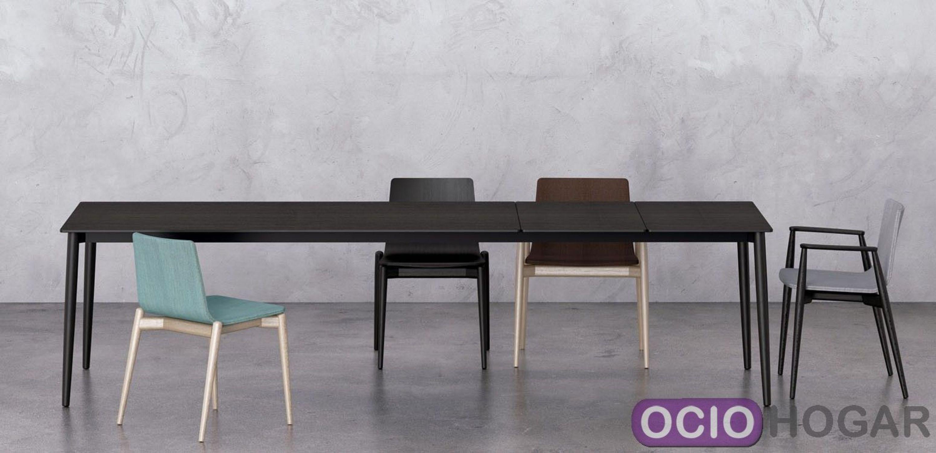 Mesa extensible malm de pedrali muebles de dise o en for Mesa extensible diseno