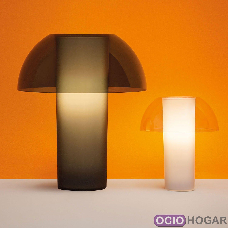 L mpara de mesa colette de pedrali l mparas dise o en for Lamparas decorativas de mesa