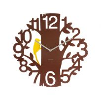 Reloj de pared Woodpecker