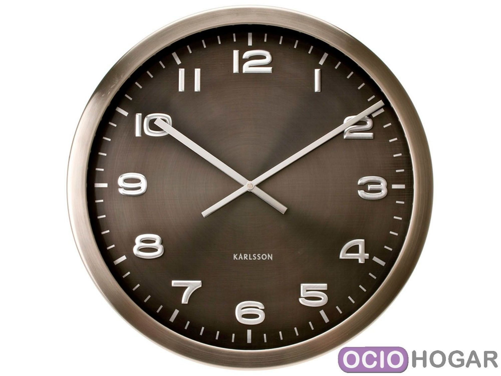 Reloj de pared maxie de present time relojes modernos - Reloj pared diseno ...