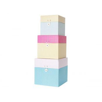 Cajas de almacenaje Grid