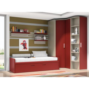 Dormitorio juvenil Cabernet