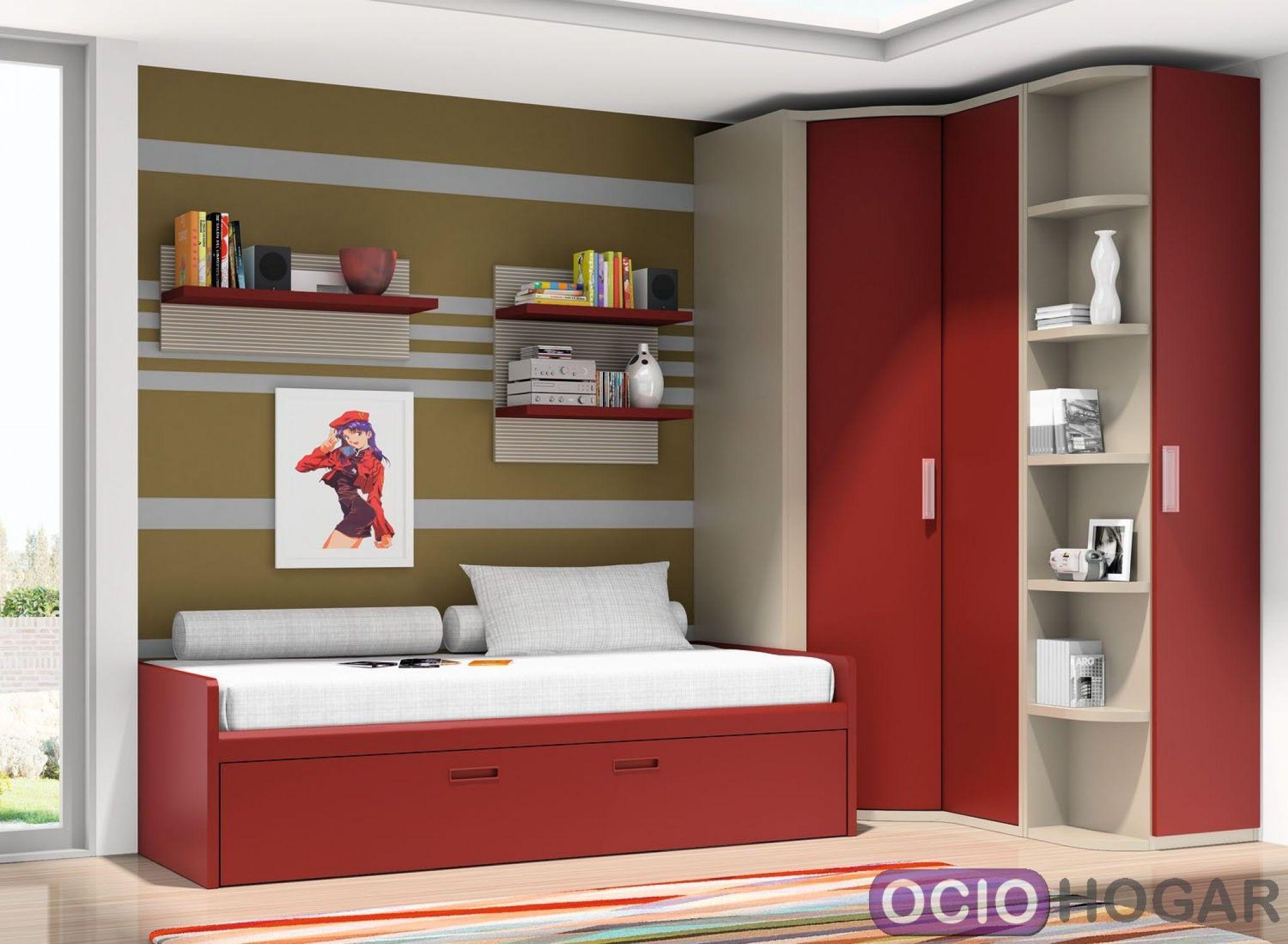Dormitorio juvenil cabernet dissery muebles juveniles - Cuadros dormitorio juvenil ...