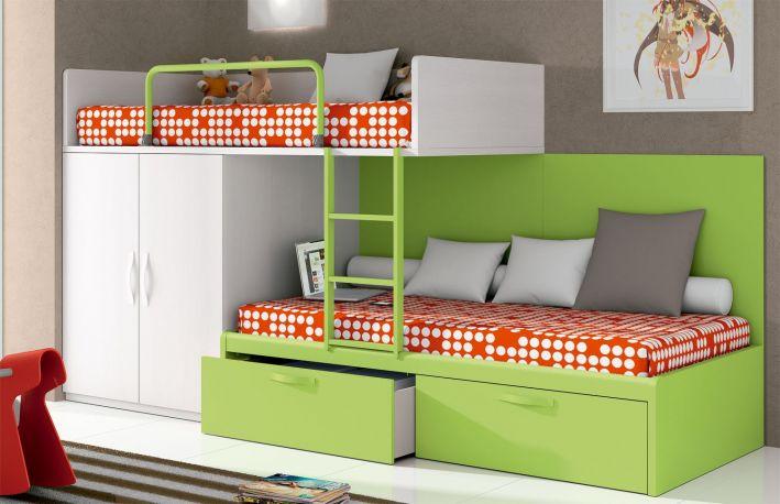 Dormitorio juvenil Aneto de Dissery