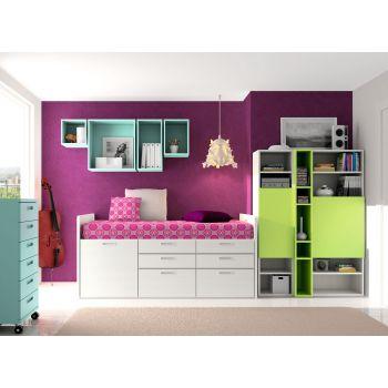 Dormitorio juvenil Spacios