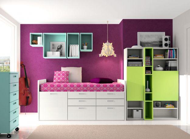 Dormitorio juvenil Spacios de Dissery