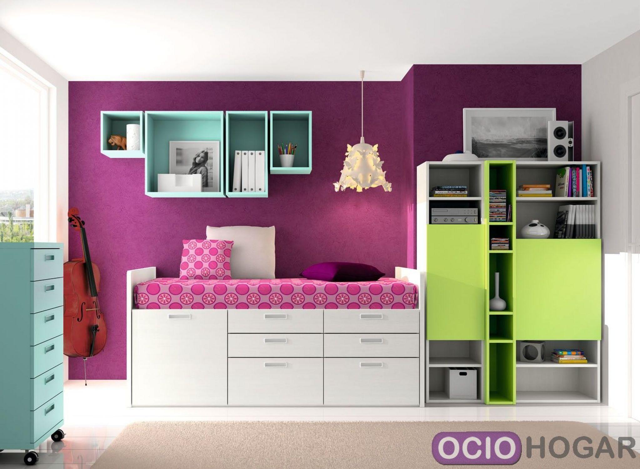 Dormitorio juvenil spacios de dissery muebles modernos - Muebles dormitorio juvenil ...