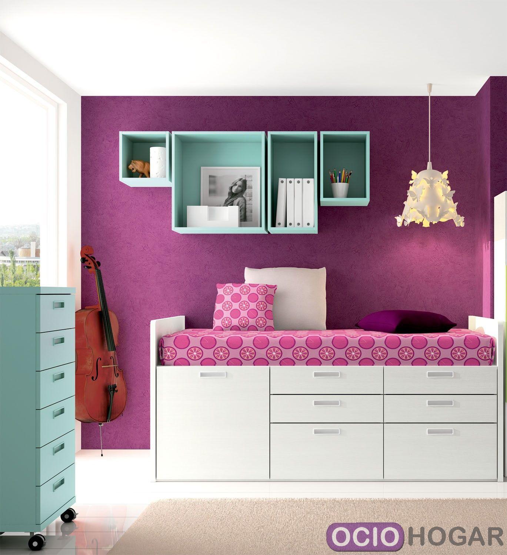 Dormitorio juvenil spacios de dissery muebles modernos - Ideas habitacion juvenil ...