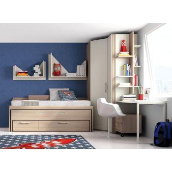 Dormitorio juvenil Monza