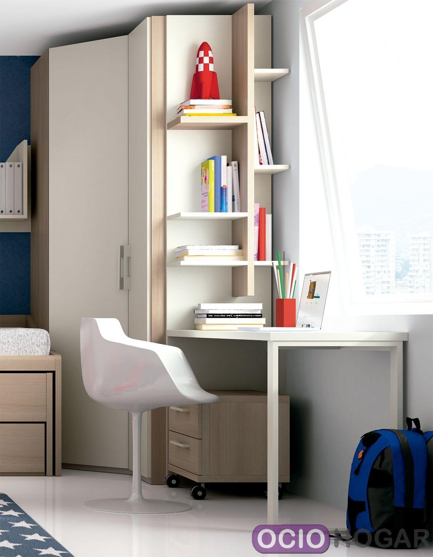 Dormitorio juvenil monza de dissery muebles infantiles - Muebles dormitorio juvenil ...