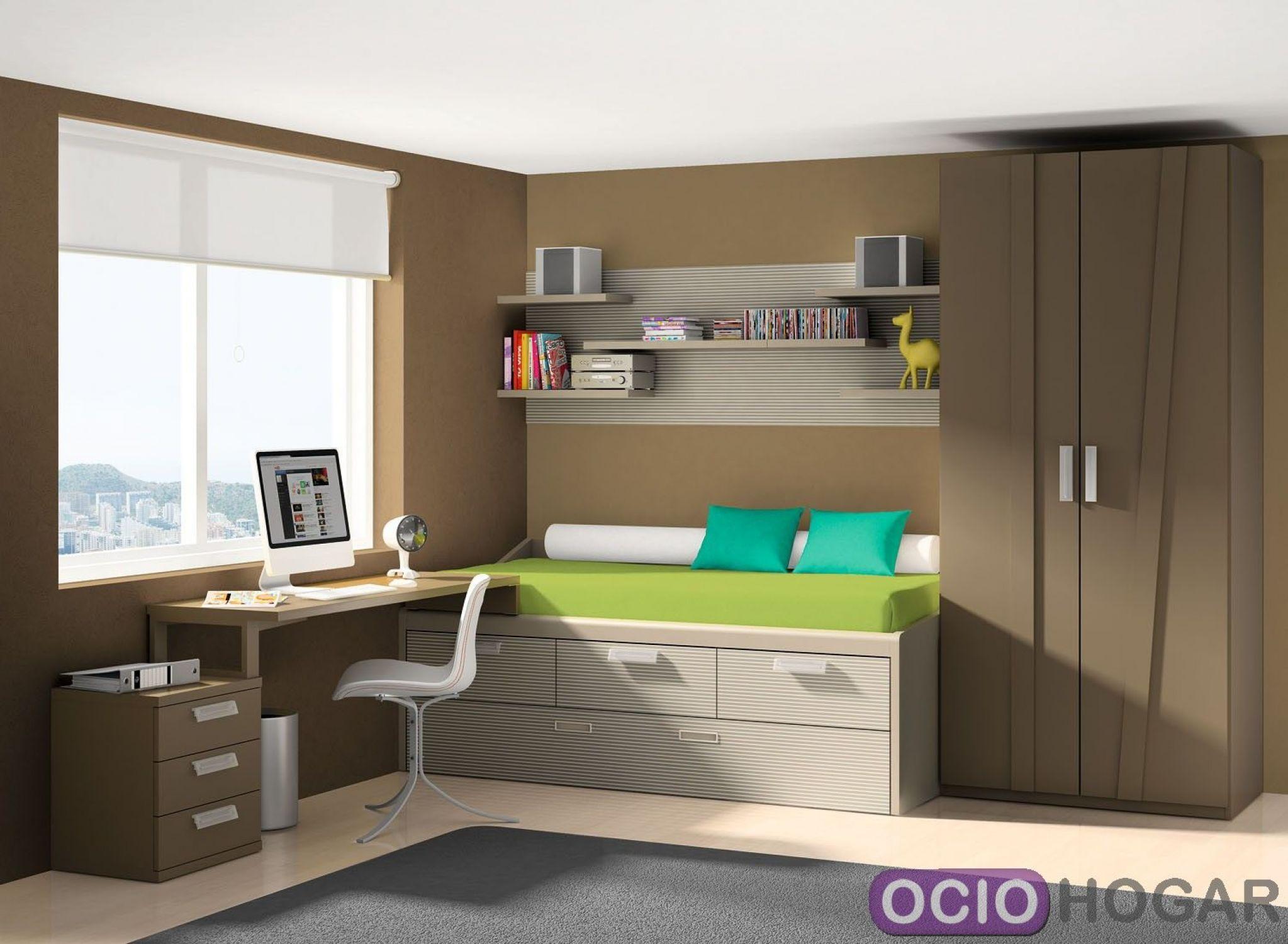 Dormitorio juvenil delta de dissery for Muebles juveniles