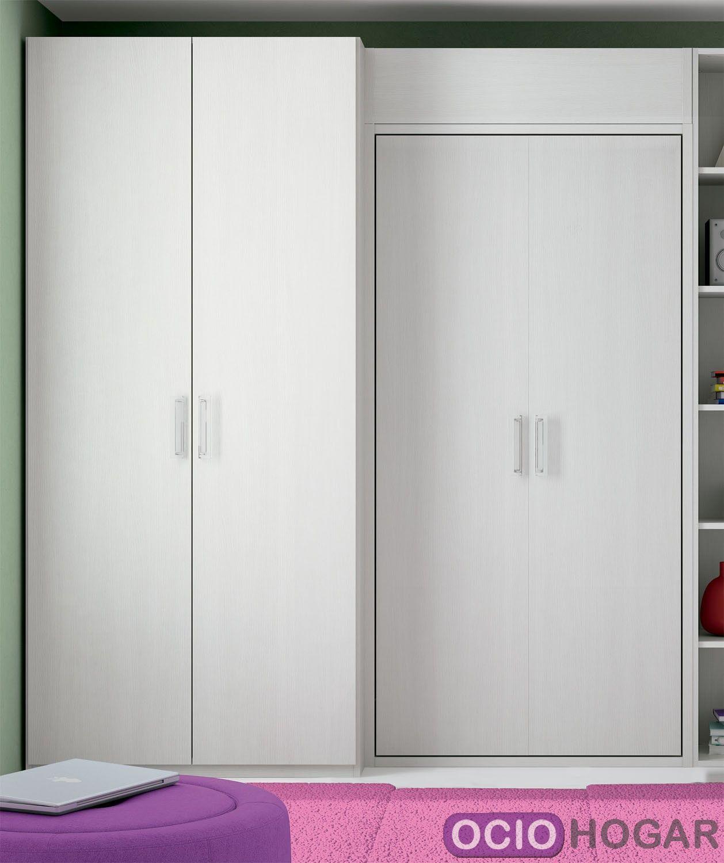 Dormitorio infantil closet de dissery muebles juveniles for Closet de madera para dormitorios
