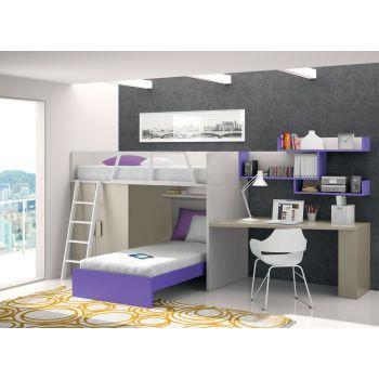 Dormitorio juvenil Violet