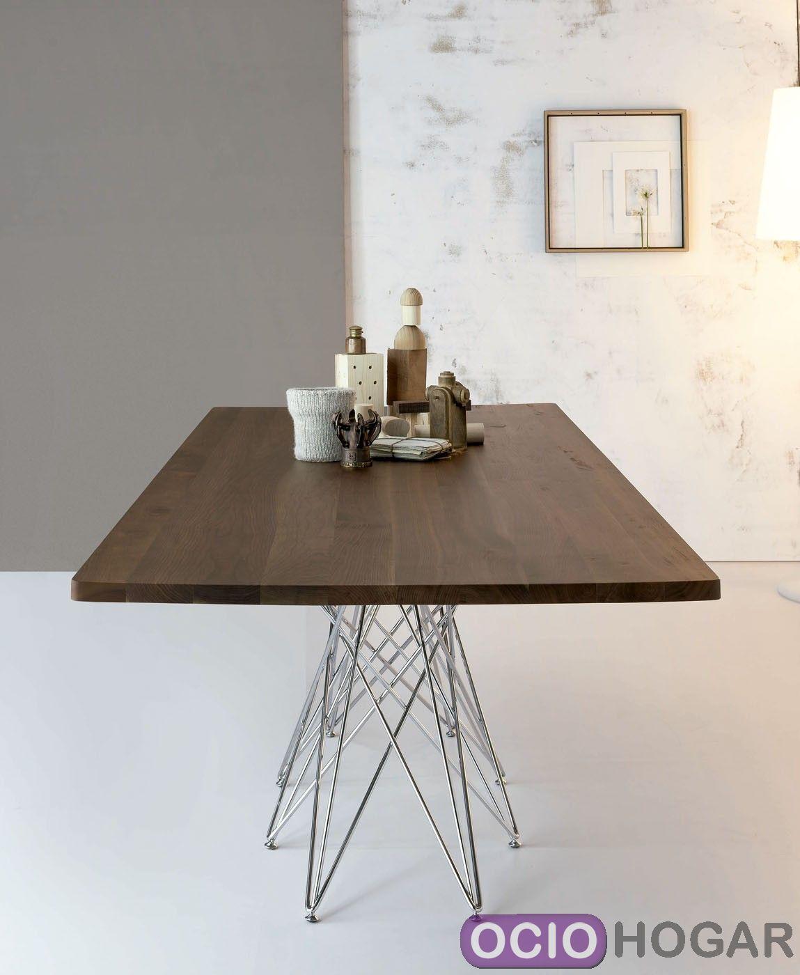 Mesa de dise o octa de bonaldo mesas modernas en for Mesa diseno