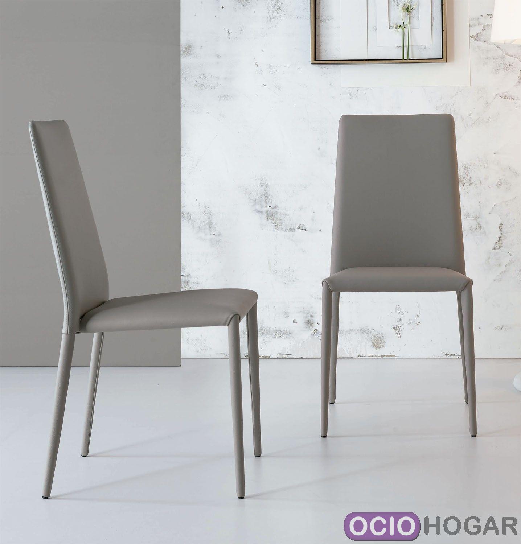 silla de dise o eral de bonaldo sillas de piel en