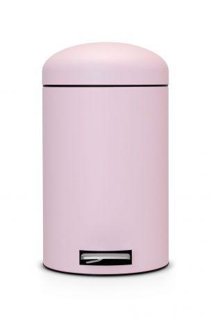 Cubo Pedal Retro 12L Mineral Pink de Brabantia