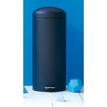 Cubo Pedal Retro 30L Mineral Blue