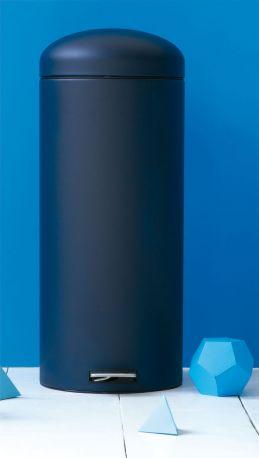 Cubo Pedal Retro 30L Mineral Blue de Brabantia