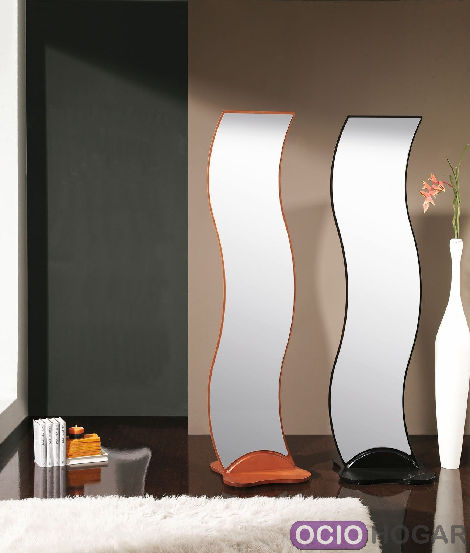 Espejo de dise o ondas de dissery complementos en for Espejos de diseno para recibidor