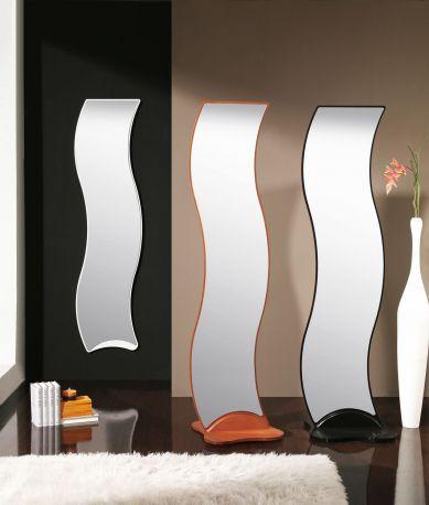 Espejo de dise o ondas de dissery complementos en for Disenos de espejos decorativos