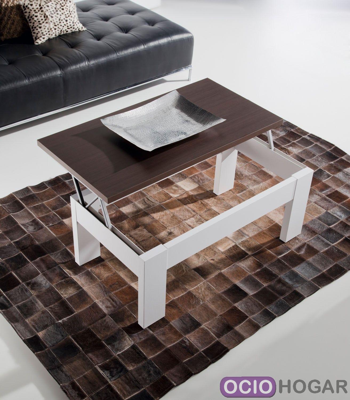 Mesa de centro elevable duo de dissery muebles online for Mesa centro elevable