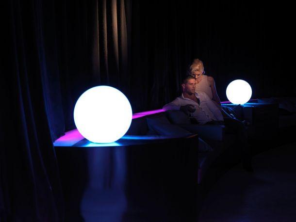 Lámpara Esfera con luz Bubbles de Vondom