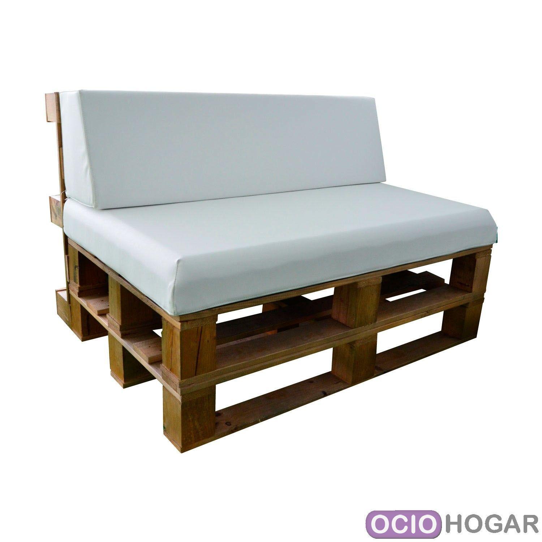 Ociohogar mesa de centro y taburetes palet de apyou - Mesas de palet ...