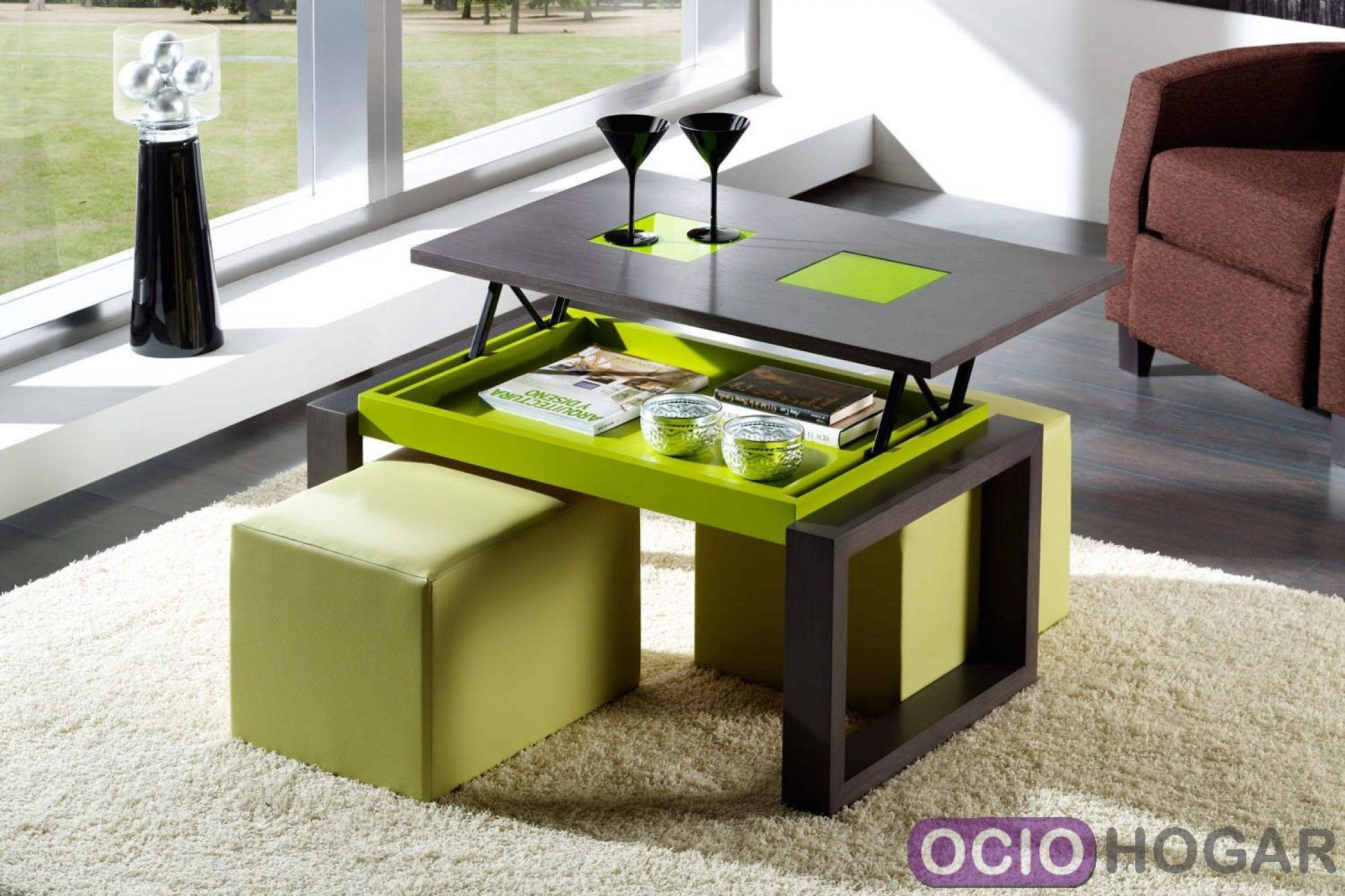 Ociohogar mesa de centro elevable roth de dissery - Mesas salon elevables ...