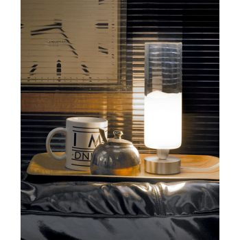 Lámpara de mesa Lio de Vistosi. Tamaño pequeño