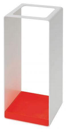 Paragüero Farben de Schönbuch. Blanco-rojo brillo