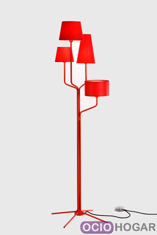 L mpara de pie tria de almerich - Lamparas decorativas de pie ...