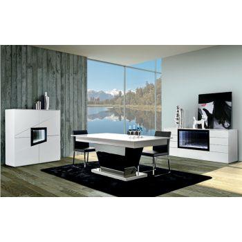 Mesa extensible Teknicaa 425 para grandes hogares