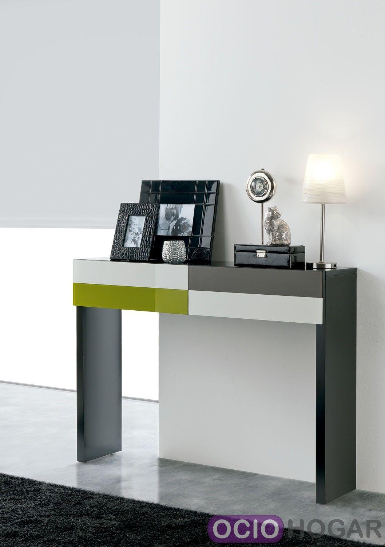 Consola moderna temaa de clara home - Consolas recibidor modernas ...