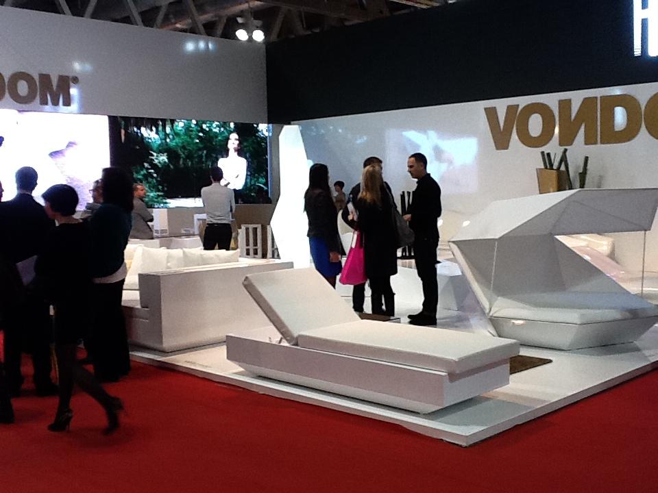 Stand de VONDOM en la Feria del Mueble de Milán