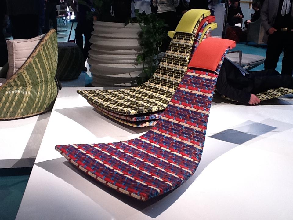 Tumbona de diseño para exterior