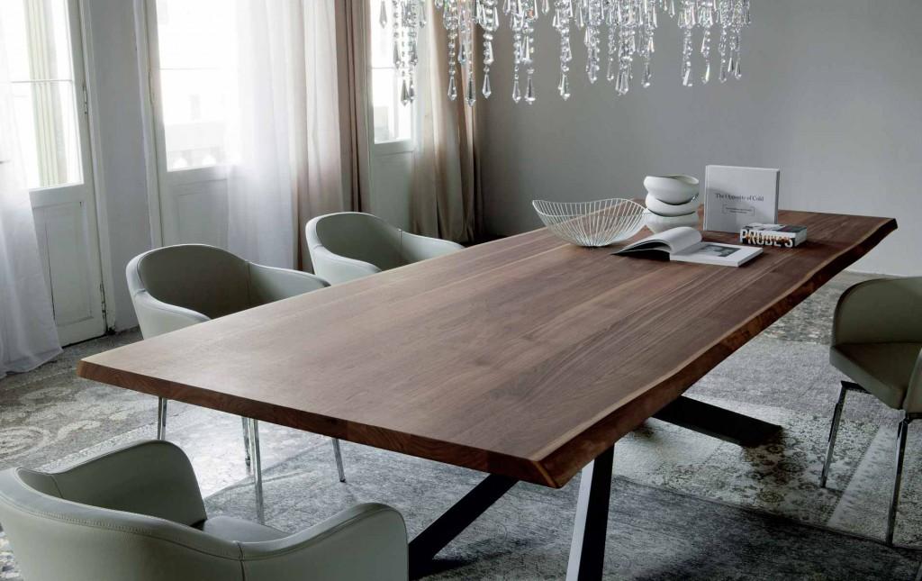 Muebles de lujo: mesa Spyder Wood