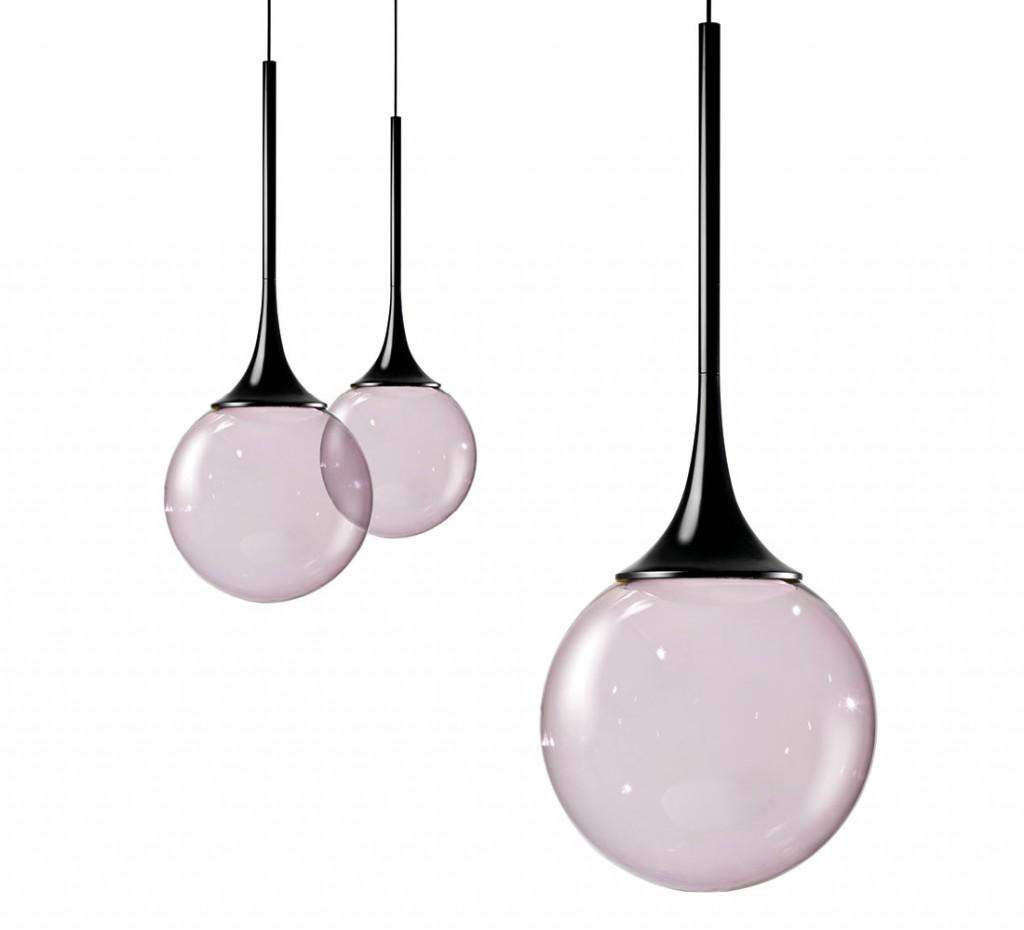 Bubble Lamp diseñada por el artista Nika Zupanc junto con Vistosi