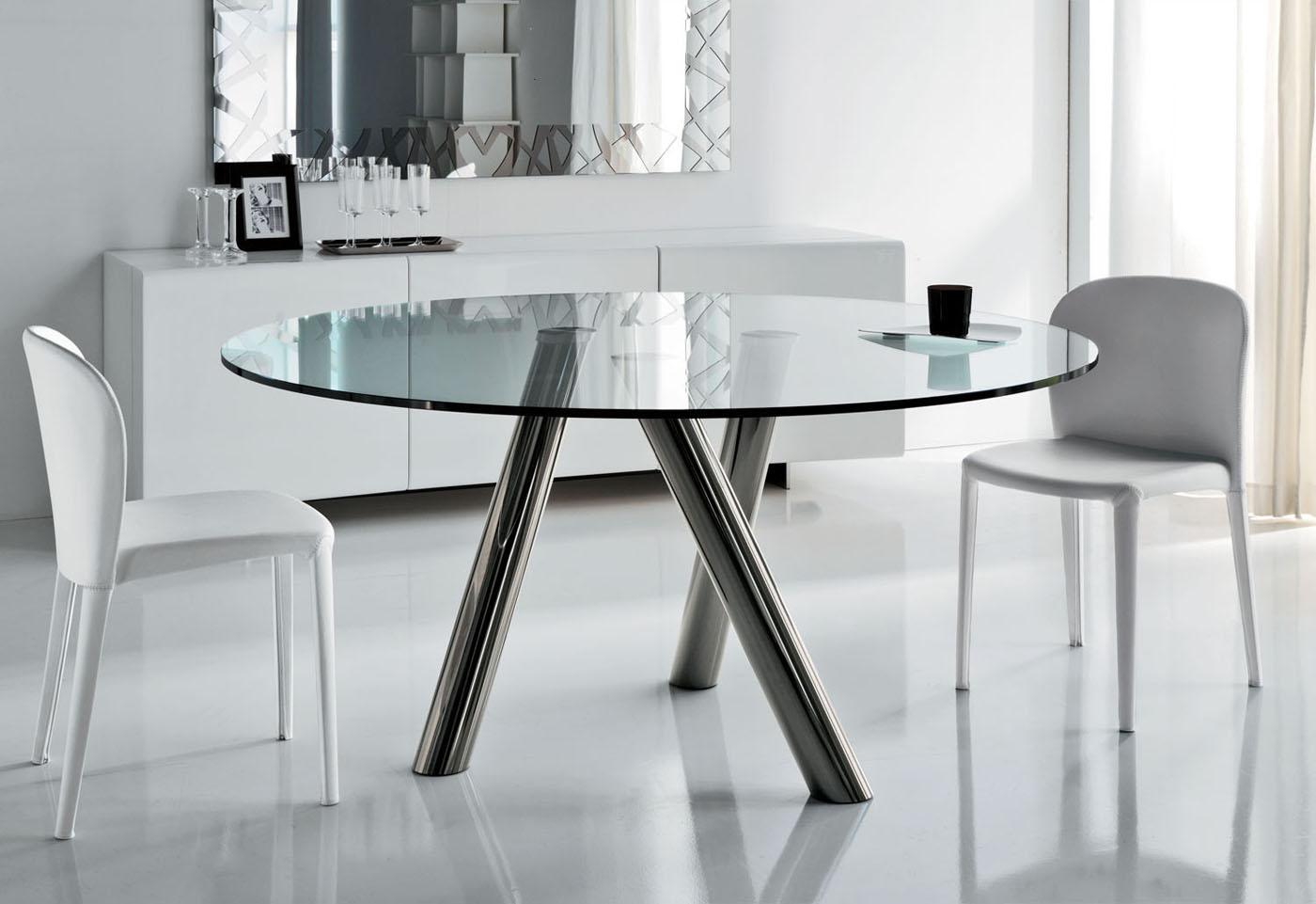 Mesas para comedores peque os for Mesas redondas para comedor modernas