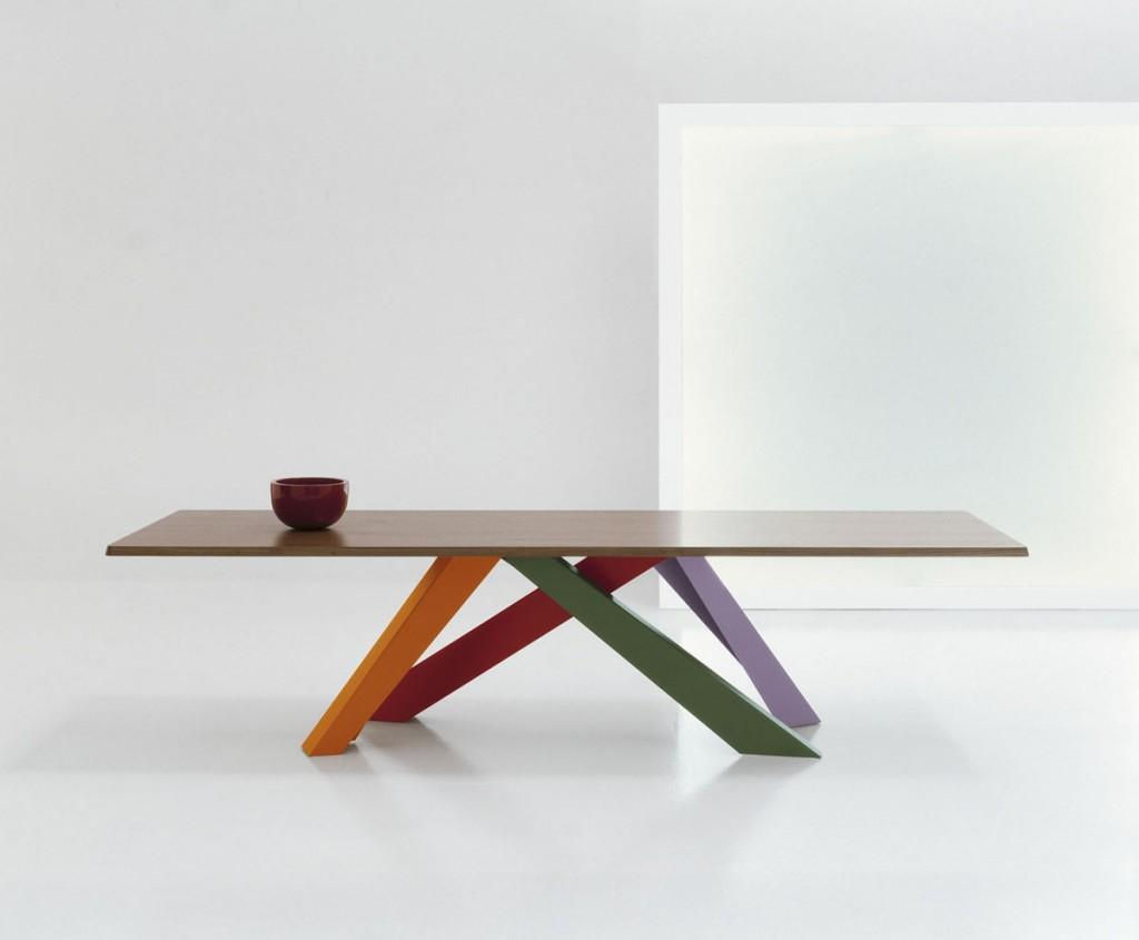 Mesa Big Table diseñada por Alain Gilles para Bonaldo